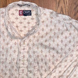 Vintage Chaps Ralph Lauren Button Up
